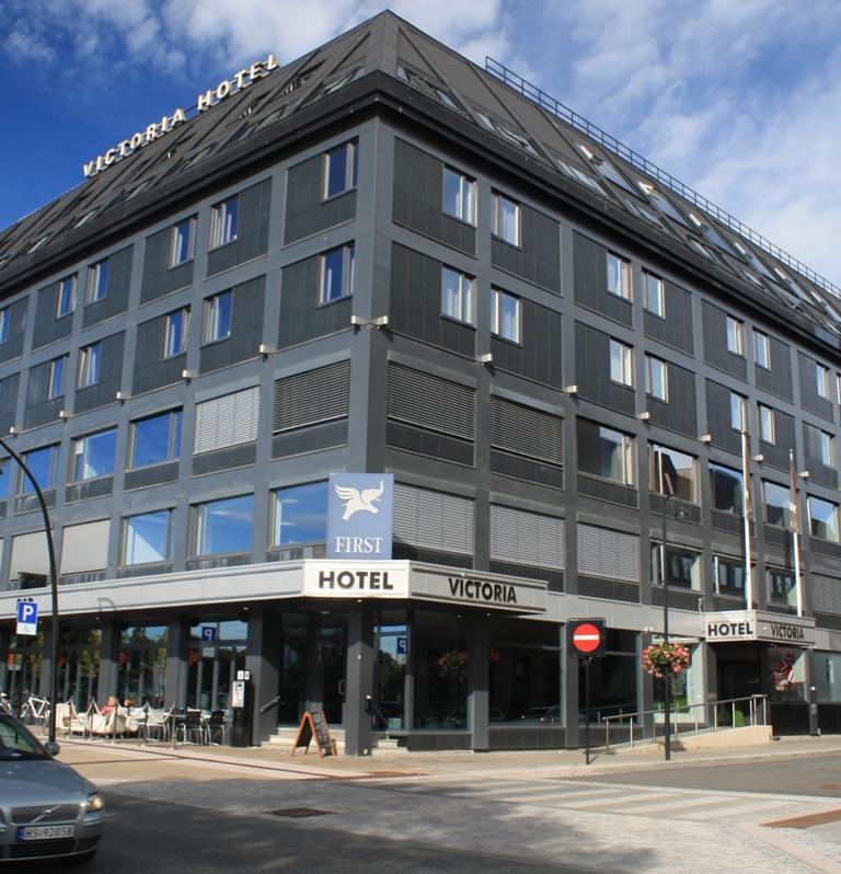 First Hotel Victoria er landsmøtehotellet i 2014. Det er gammelt, men ble totalt nyrestaurert i 2012.