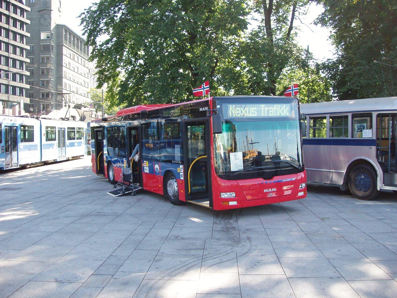 AS Sporveisbussene viste frem et eksemplar av MAN Lion's City - nærmere 15 slike vil bli satt inn i trafikken fra oktober. De representerer en designmessig forbedring i forhold til MAN NL263, selv om drivverket er det samme.