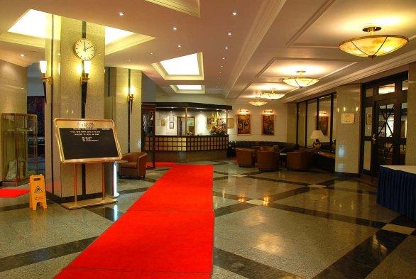 Lobbyen i Hotel DeRome