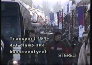 OL-bussene til Lillehammer - filmen om Transport '94