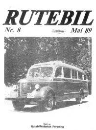 RUTEBIL 8